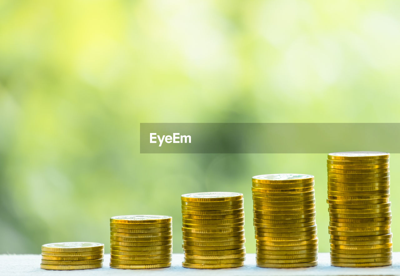 stack, finance, coin, business, savings, wealth, gold colored, currency, large group of objects, investment, finance and economy, growth, no people, close-up, economy, still life, metal, side by side, business finance and industry, focus on foreground, making money, silver colored
