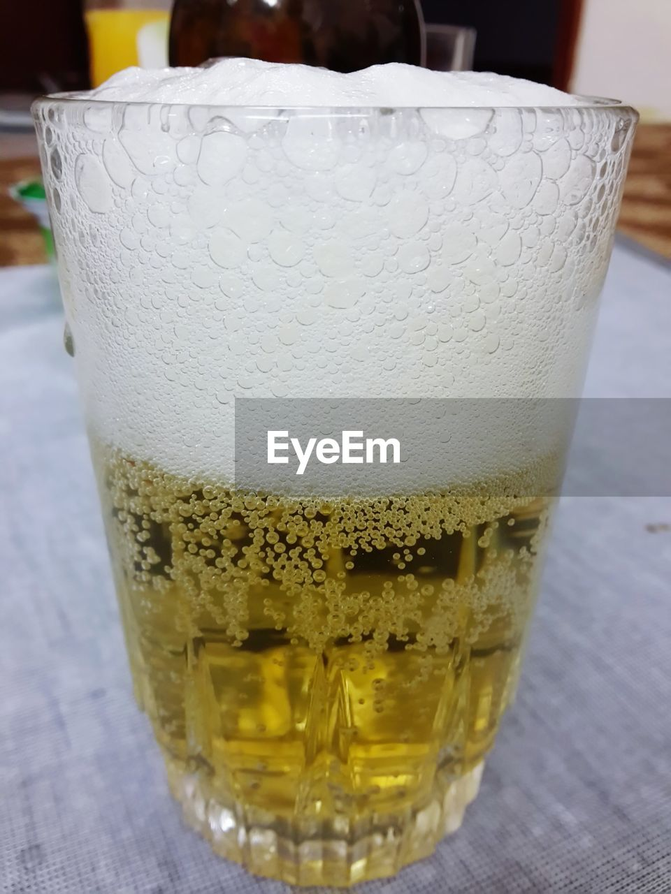 drink, food and drink, refreshment, drinking glass, table, close-up, freshness, frothy drink, alcohol, indoors, no people, day