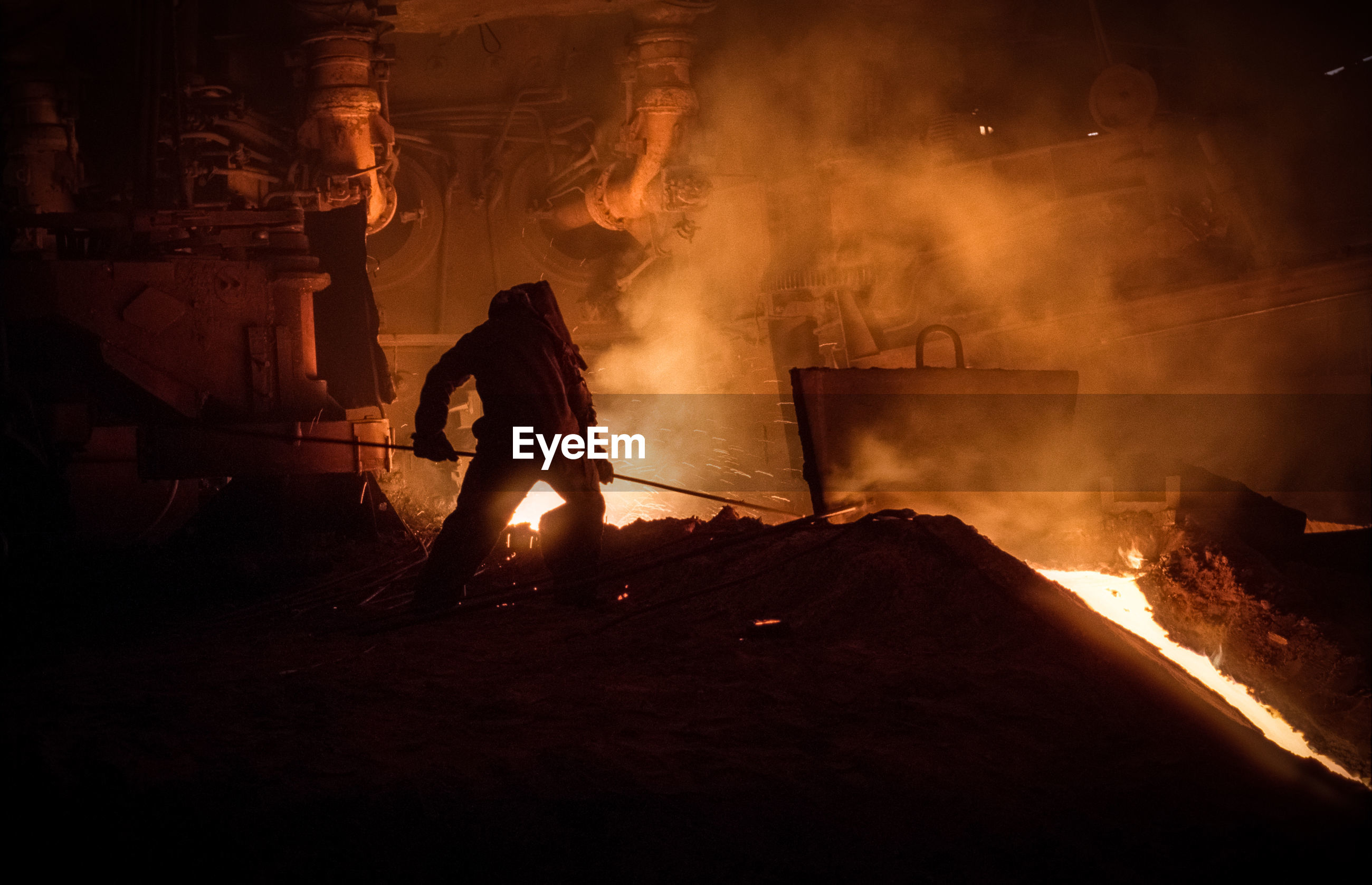 Man working in industry