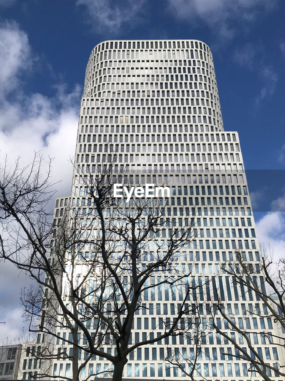 architecture, built structure, sky, building exterior, low angle view, building, cloud - sky, city, office building exterior, nature, tall - high, office, day, no people, tower, tree, skyscraper, modern, bare tree, outdoors