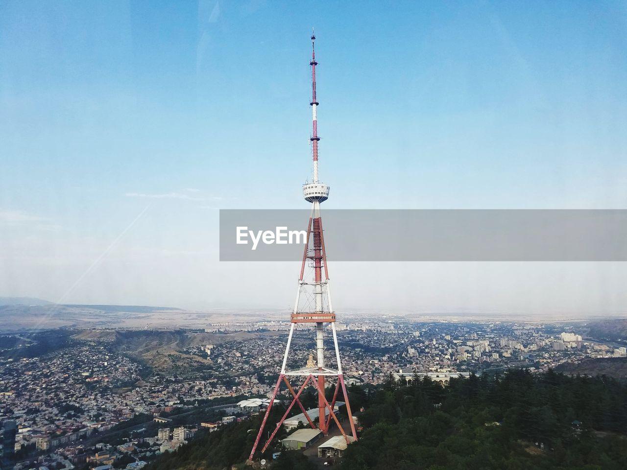 Tbilisi, mtatsminda amusement park