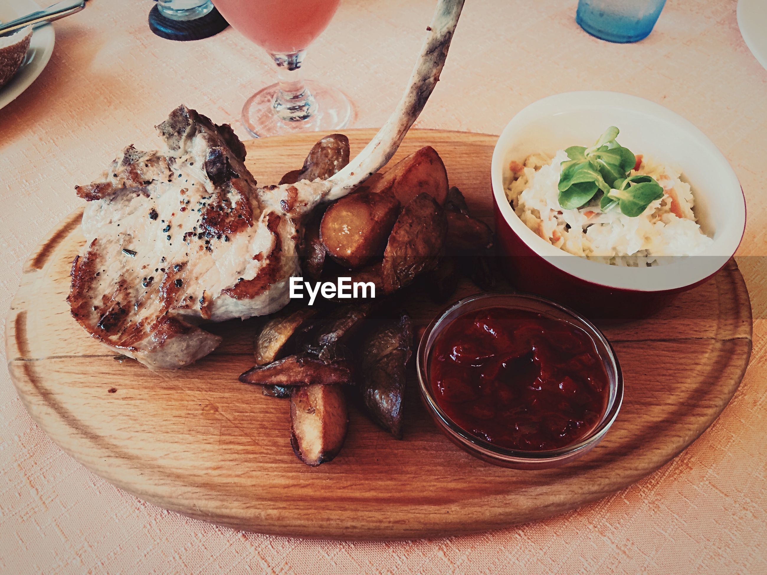 food and drink, food, freshness, indoors, ready-to-eat, plate, still life, table, meat, serving size, meal, healthy eating, indulgence, close-up, high angle view, served, no people, fork, sauce, slice