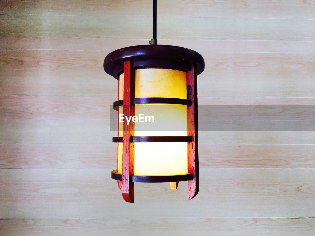 Close-Up Of Hanging Lantern