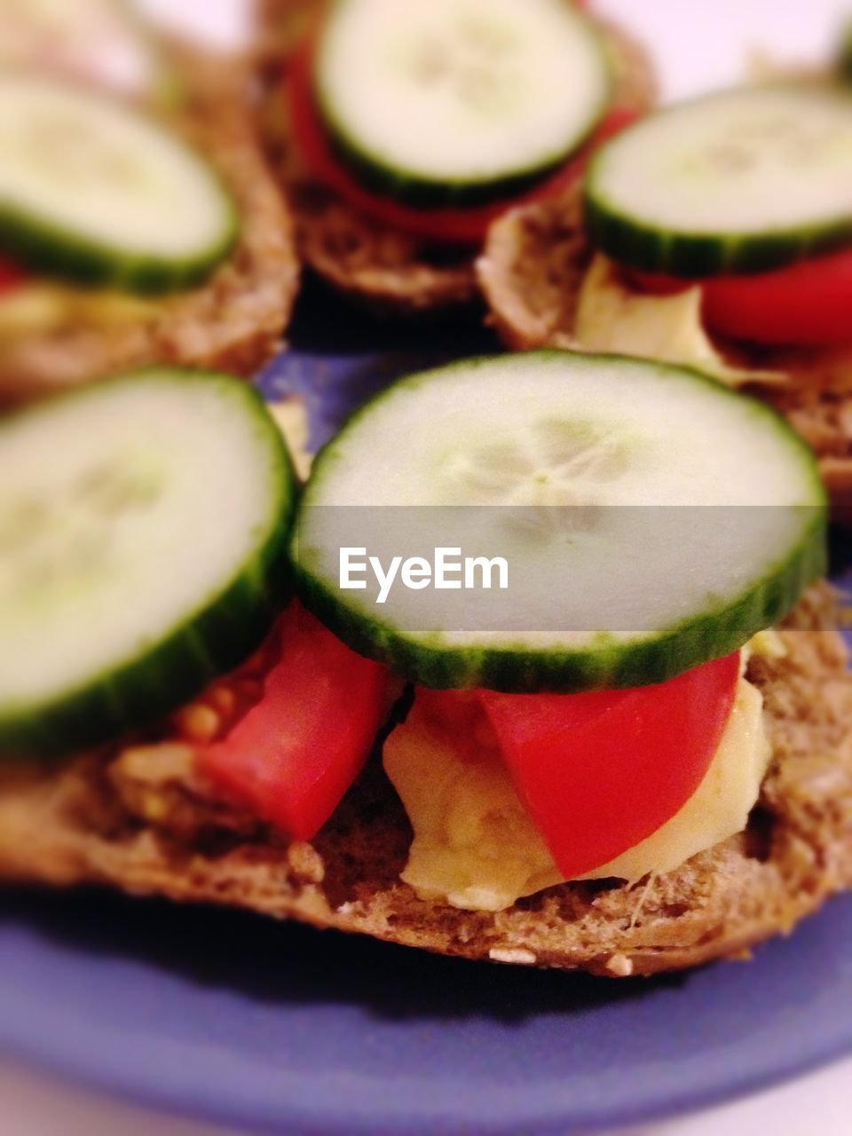 food and drink, food, slice, close-up, healthy eating, freshness, indoors, selective focus, no people, cucumber, vegetable, drink, plate, ready-to-eat, day