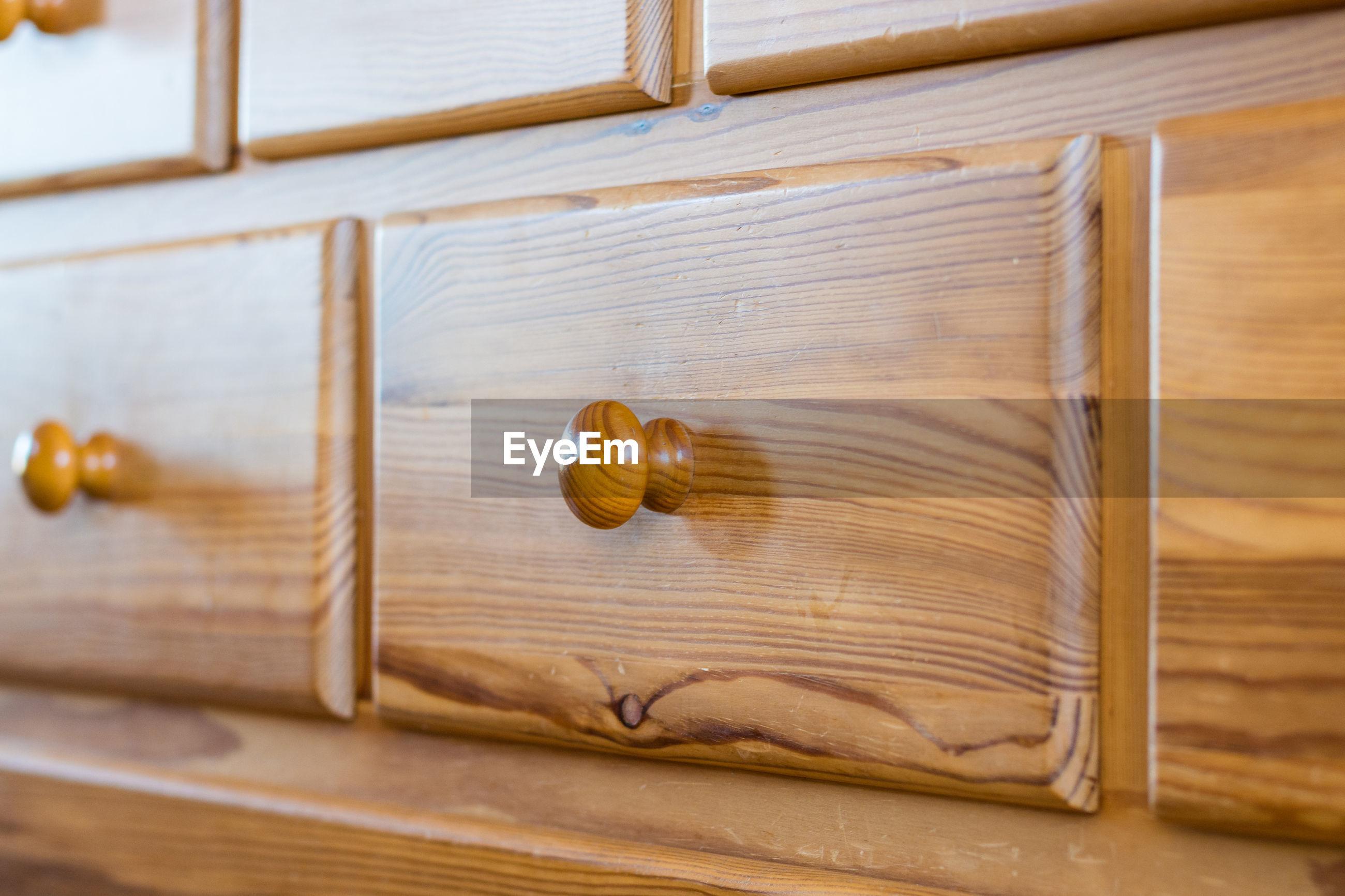 Full frame shot of filing cabinet
