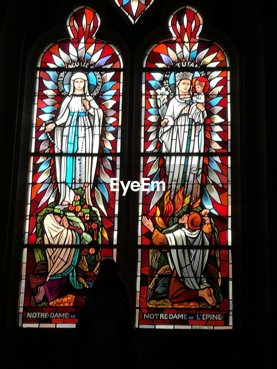 stained glass, religion, window, multi colored, spirituality, place of worship, indoors, no people, day, close-up