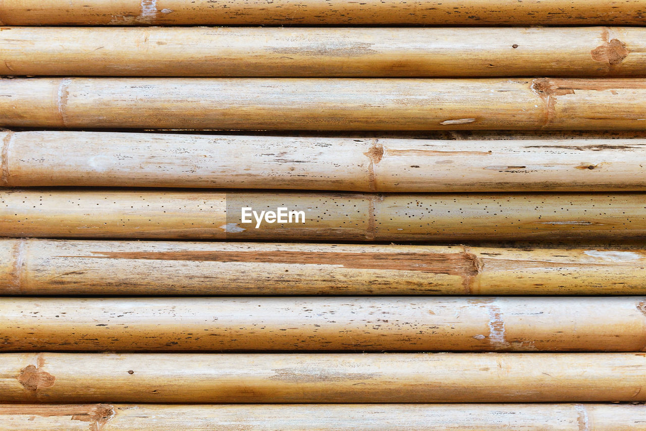 close-up, backgrounds, full frame, no people, wood - material, pattern, rusty, metal, day, weathered, old, bamboo - material, brown, outdoors, large group of objects, stack, shutter, textured, pipe - tube, repetition, corrugated