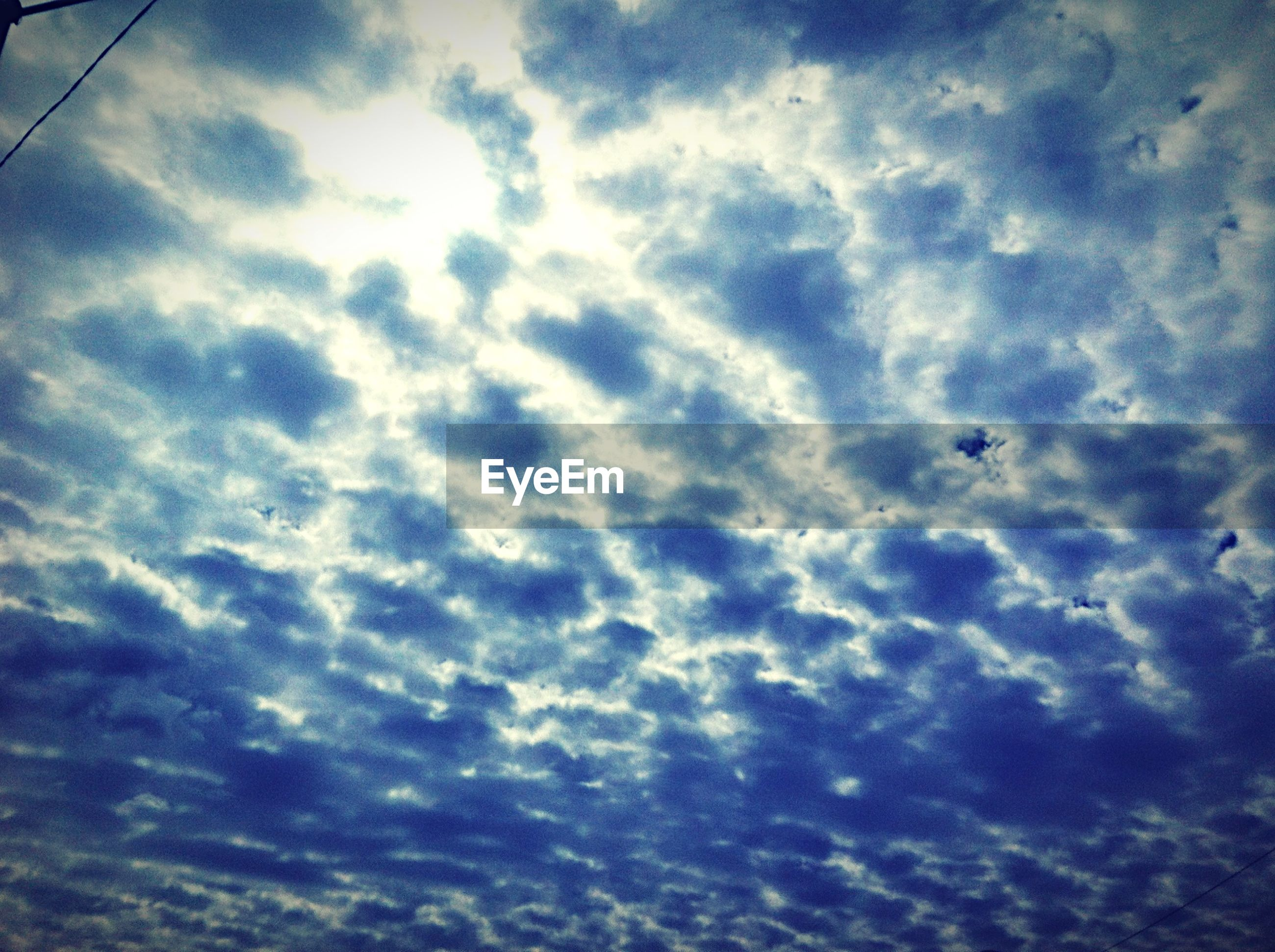 sky, cloud - sky, low angle view, cloudy, sky only, backgrounds, full frame, cloudscape, beauty in nature, tranquility, cloud, nature, scenics, weather, tranquil scene, idyllic, no people, blue, outdoors, day