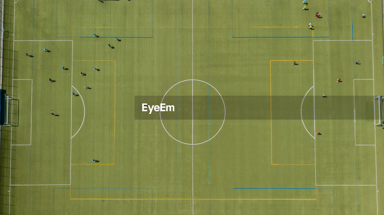 Full Frame Shot Of Soccer Field