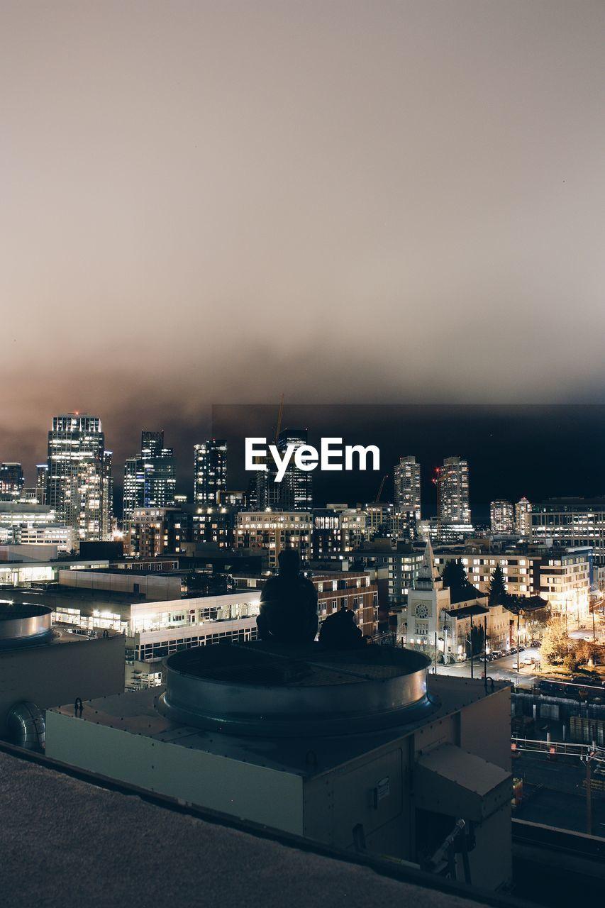 cityscape, architecture, building exterior, built structure, city, skyscraper, illuminated, no people, sky, outdoors, urban skyline, night, modern
