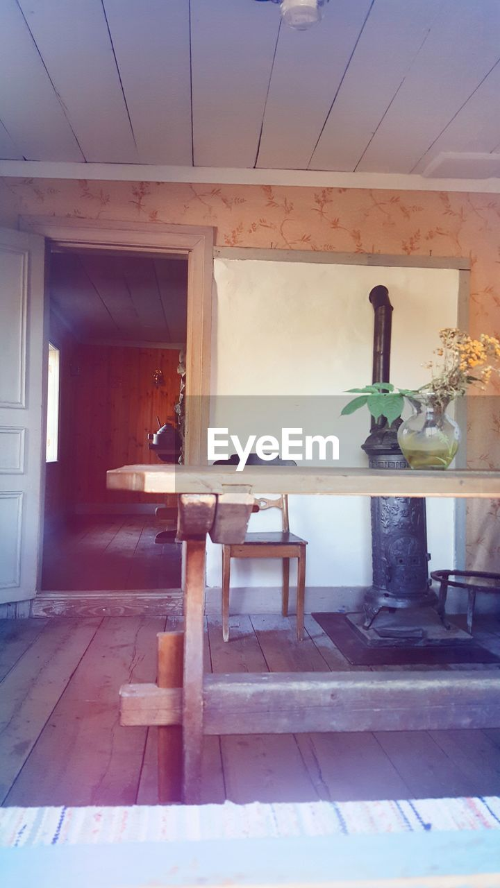 indoors, home interior, no people, architecture, table, built structure, home showcase interior, domestic room, day