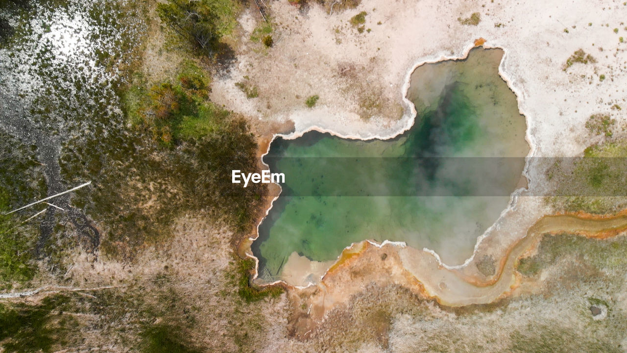 water, nature, no people, aerial view, land, beauty in nature, environment, sea, scenics - nature, beach, non-urban scene, outdoors, satellite view, day, plant, physical geography, tree, coastline, landscape, topography
