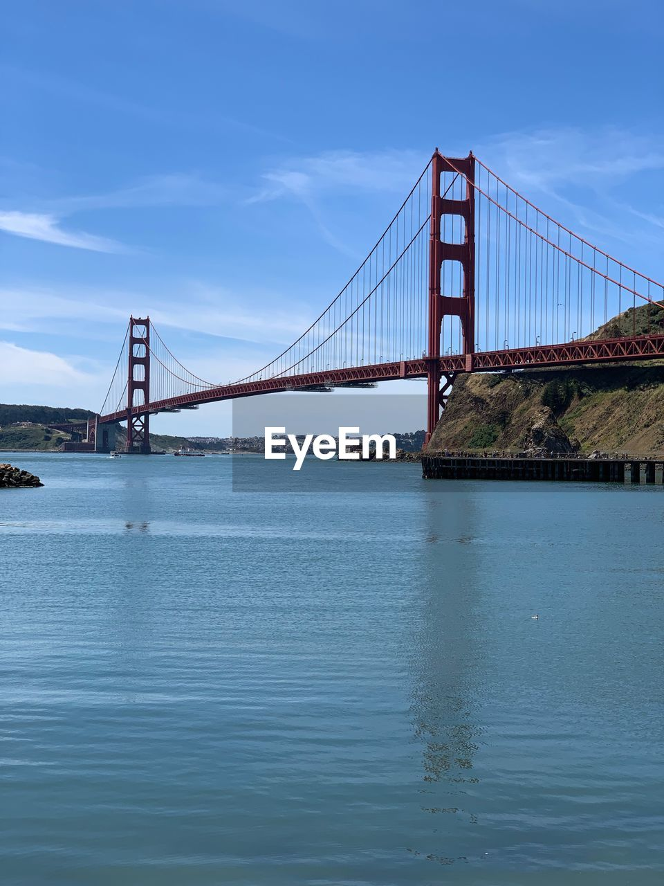 water, built structure, sky, architecture, connection, bridge, engineering, bridge - man made structure, transportation, suspension bridge, waterfront, bay, tourism, bay of water, travel destinations, nature, travel, sea, outdoors, long