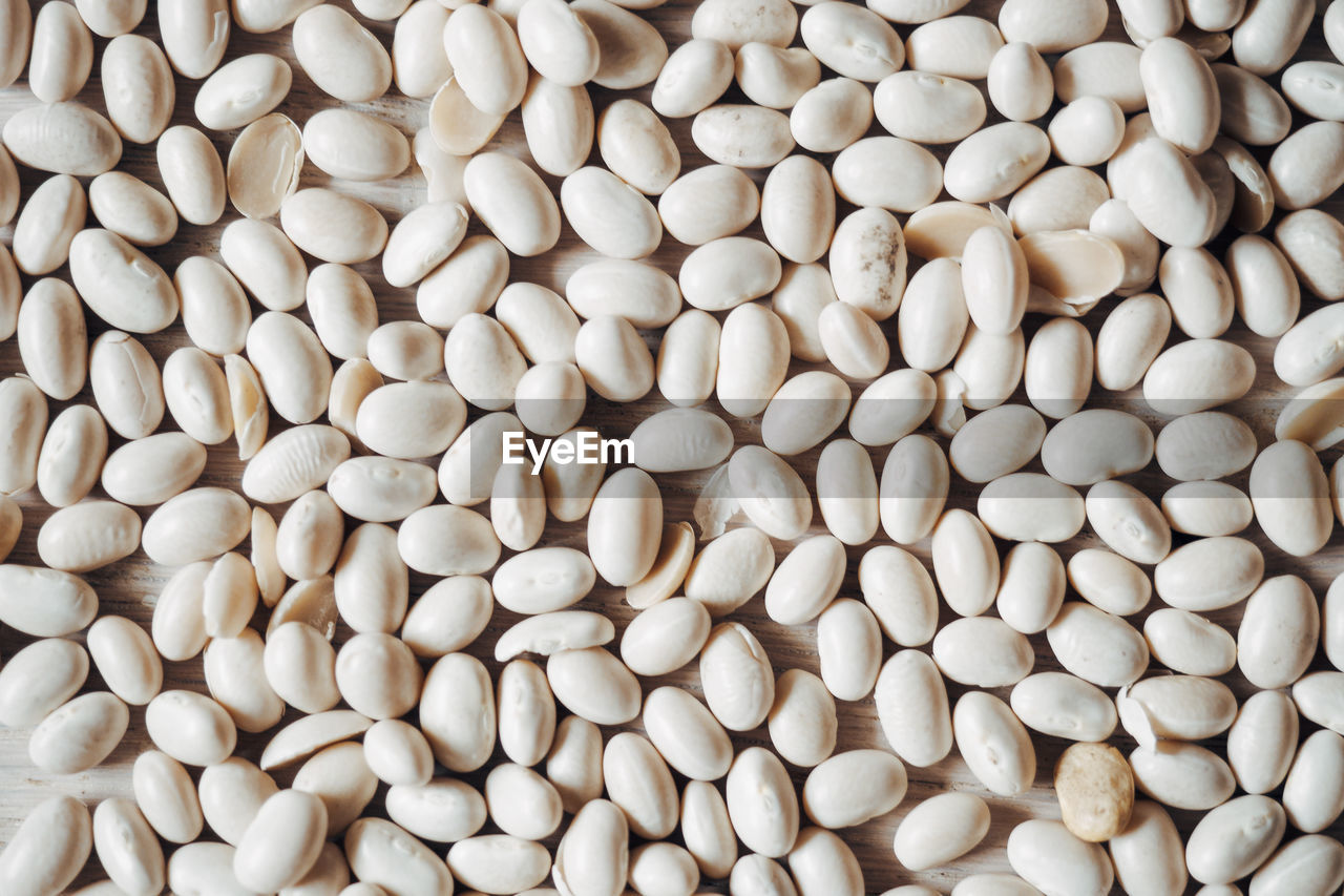 wellbeing, food, white color, full frame, healthy eating, large group of objects, raw food, freshness, backgrounds, food and drink, no people, still life, close-up, abundance, indoors, high angle view, protein, directly above, for sale, egg, legume family, vegetarian food