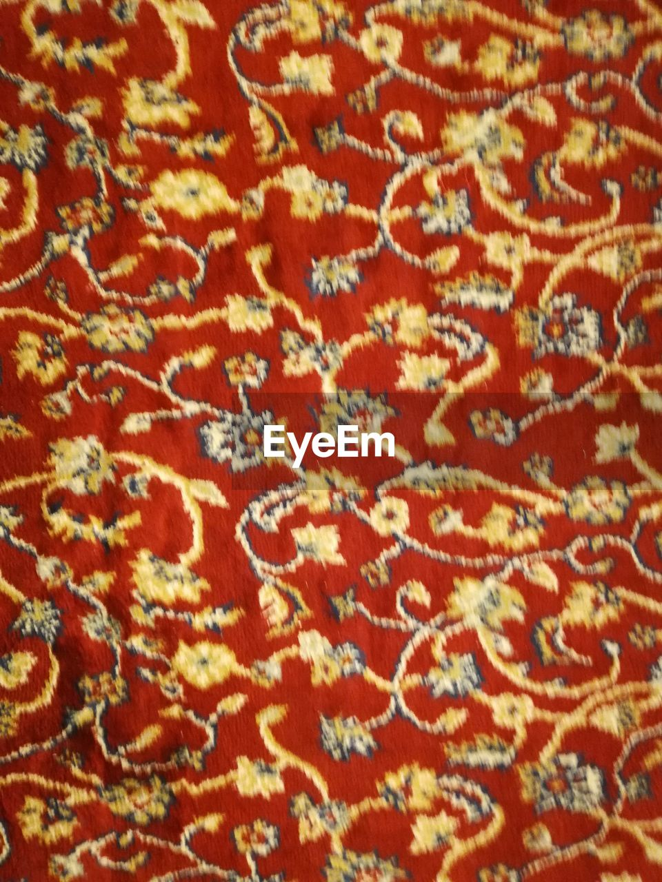 backgrounds, full frame, pattern, textile, close-up, red, art and craft, no people, indoors, design, creativity, craft, selective focus, textured, carpet - decor, woven, embroidery, thread, industry, floral pattern