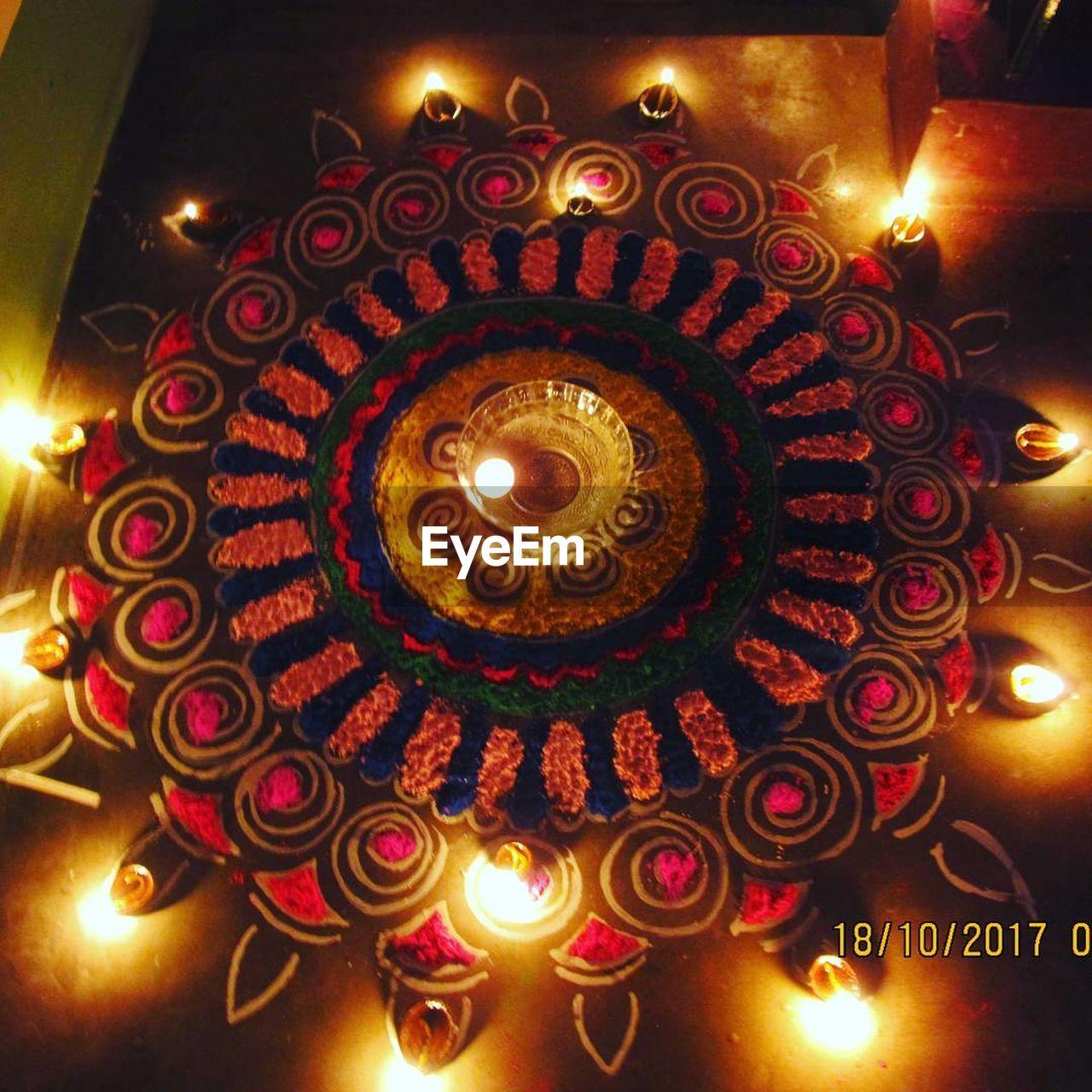 flame, illuminated, glowing, burning, heat - temperature, lighting equipment, candle, diya - oil lamp, indoors, oil lamp, diwali, tea light, traditional festival, no people, celebration, close-up