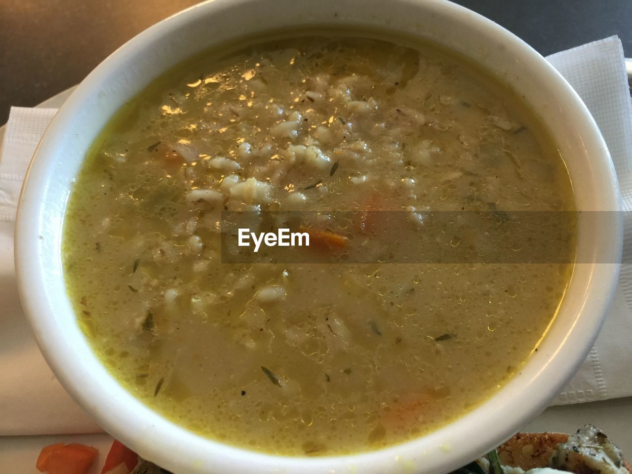 food and drink, soup, bowl, freshness, healthy eating, close-up, no people, high angle view, food, ready-to-eat, vegetable soup, indoors, drink, day