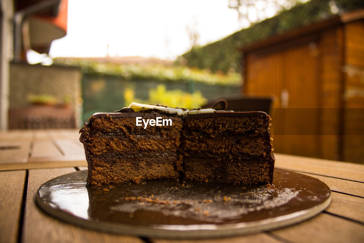A great sacher cake for your birthday