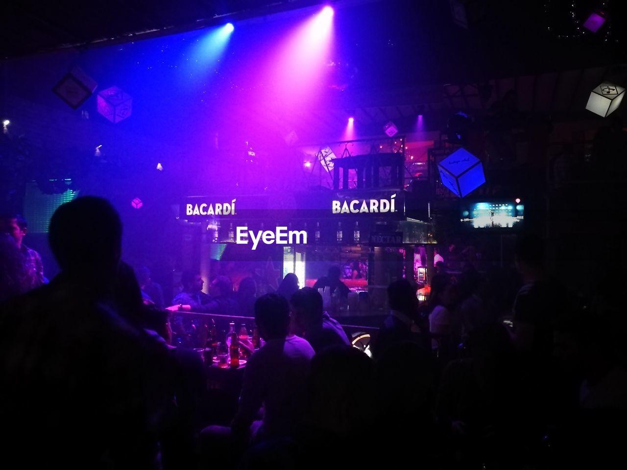 People At Nightclub