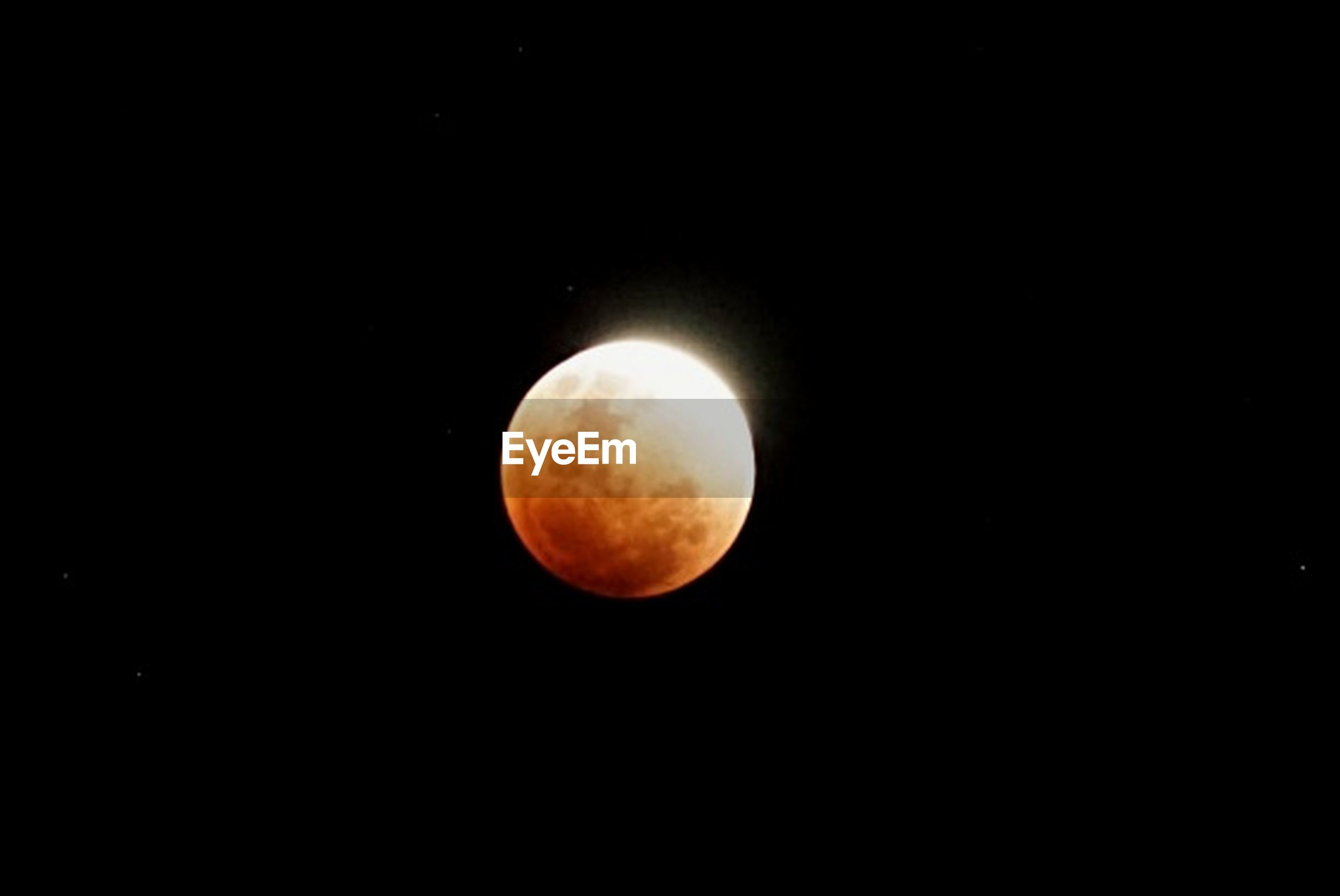 moon, astronomy, night, beauty in nature, eclipse, nature, copy space, planetary moon, orange color, tranquil scene, scenics, moon surface, no people, tranquility, outdoors, low angle view, half moon, space, clear sky, crescent, sky, close-up