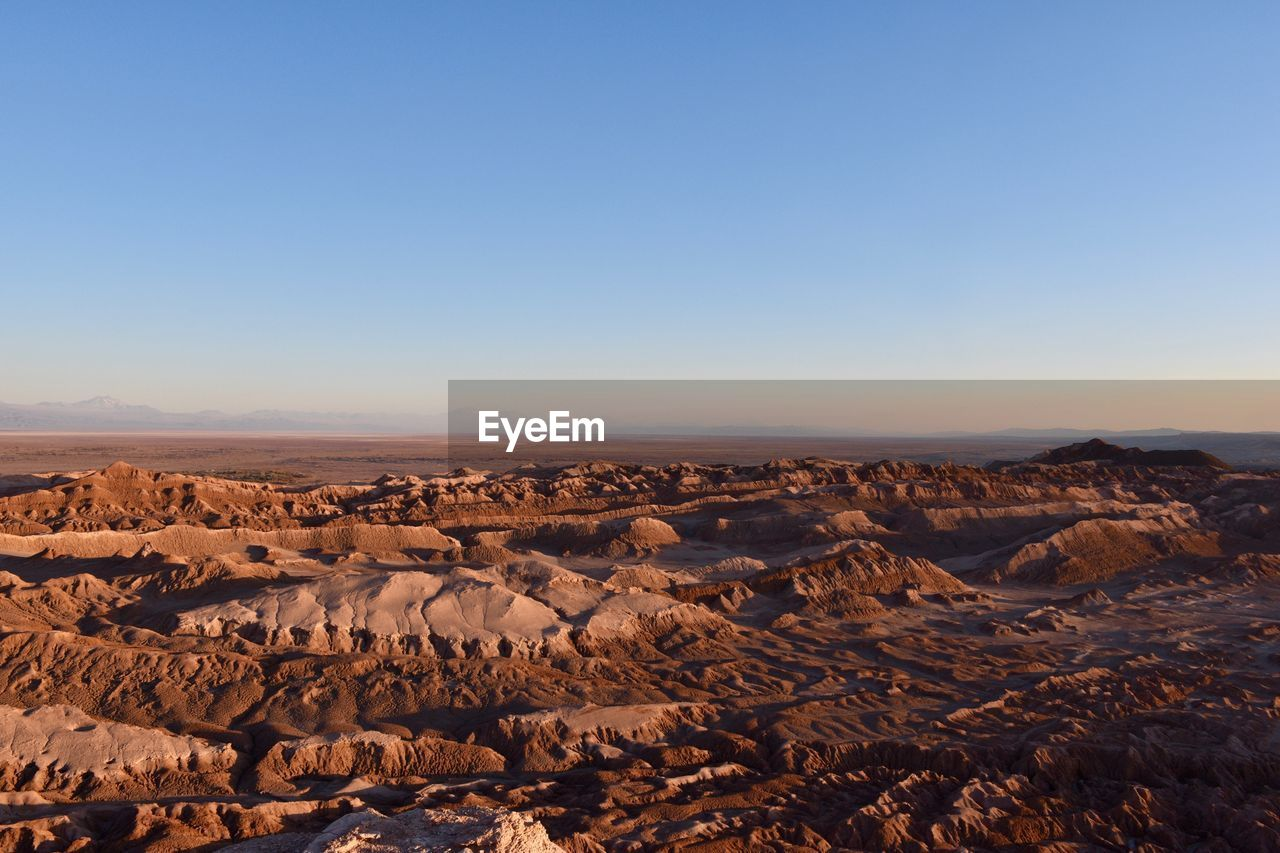 AERIAL VIEW OF ARID LANDSCAPE