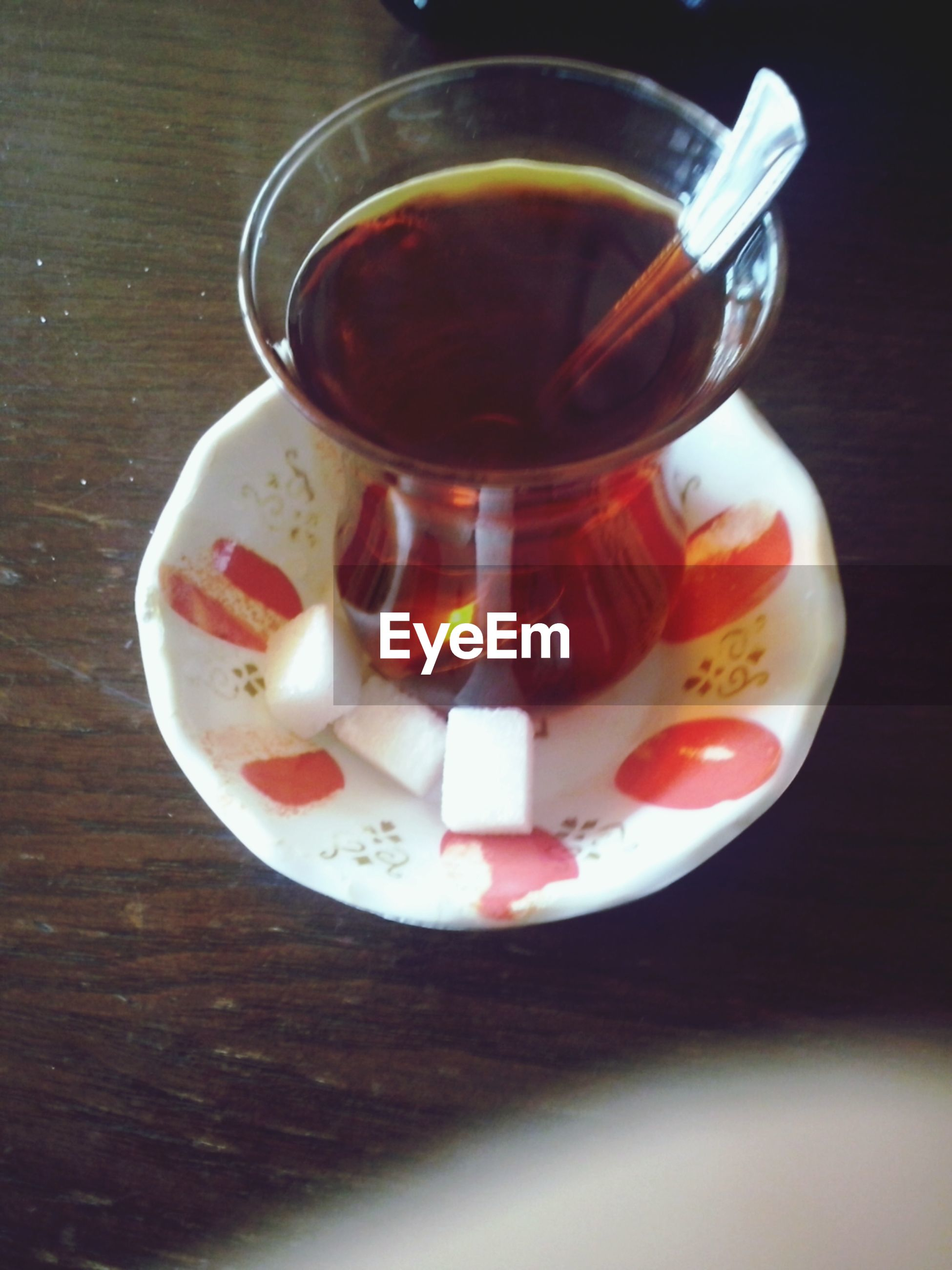 food and drink, drink, indoors, table, refreshment, freshness, still life, drinking glass, coffee cup, high angle view, saucer, cup, close-up, spoon, coffee - drink, food, tea cup, glass - material, no people, coffee