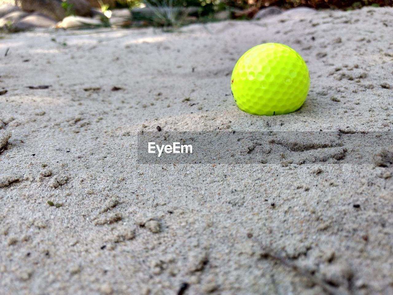 SURFACE LEVEL OF YELLOW BALL
