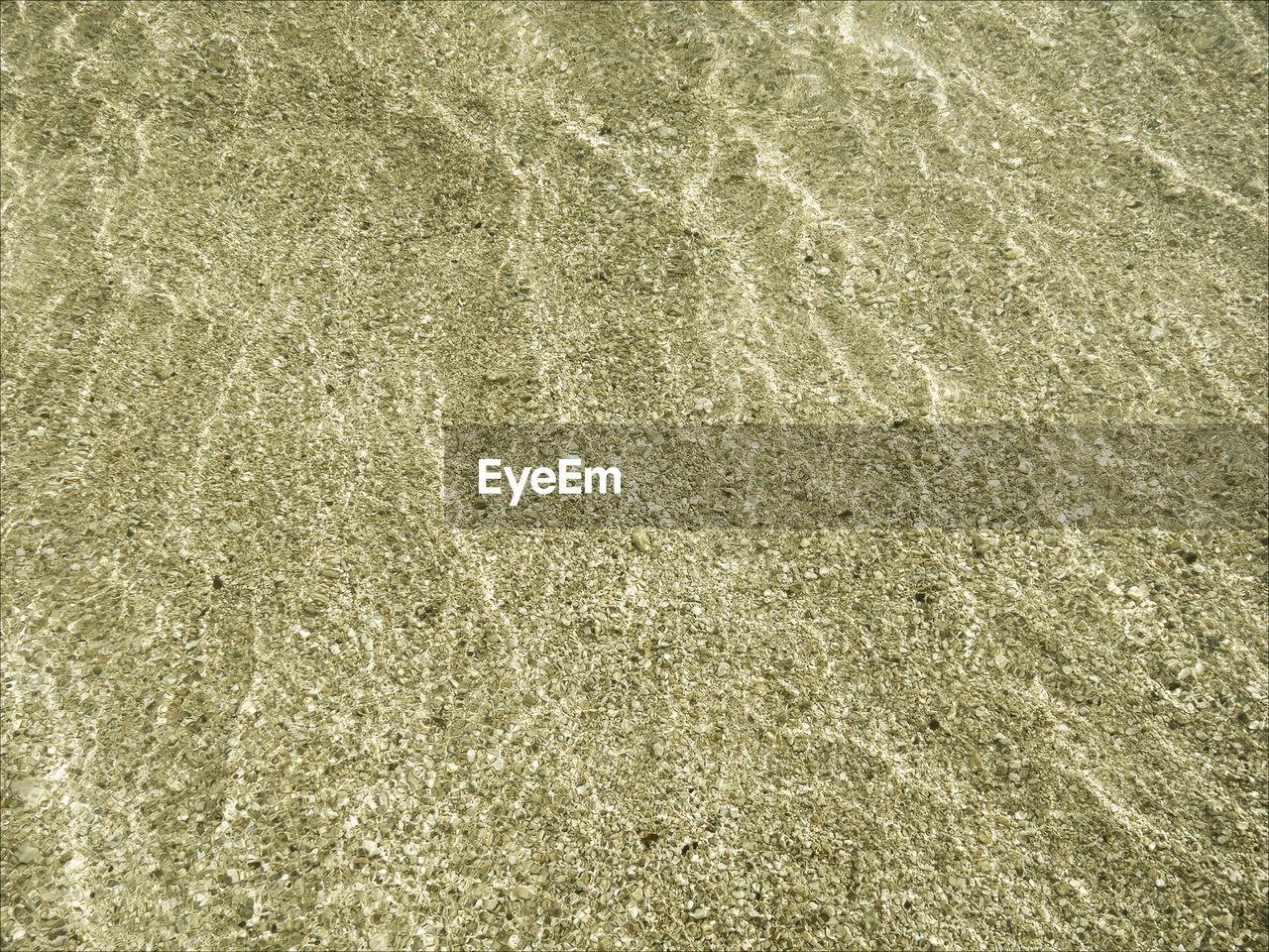 Full Frame Shot Of Sand At Beach