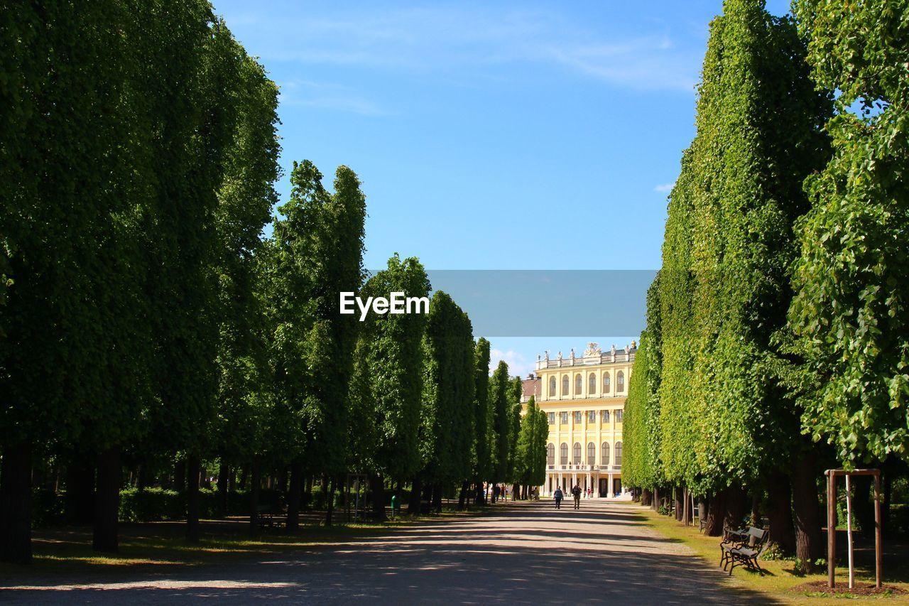 Road Towards Schonbrunn Palace
