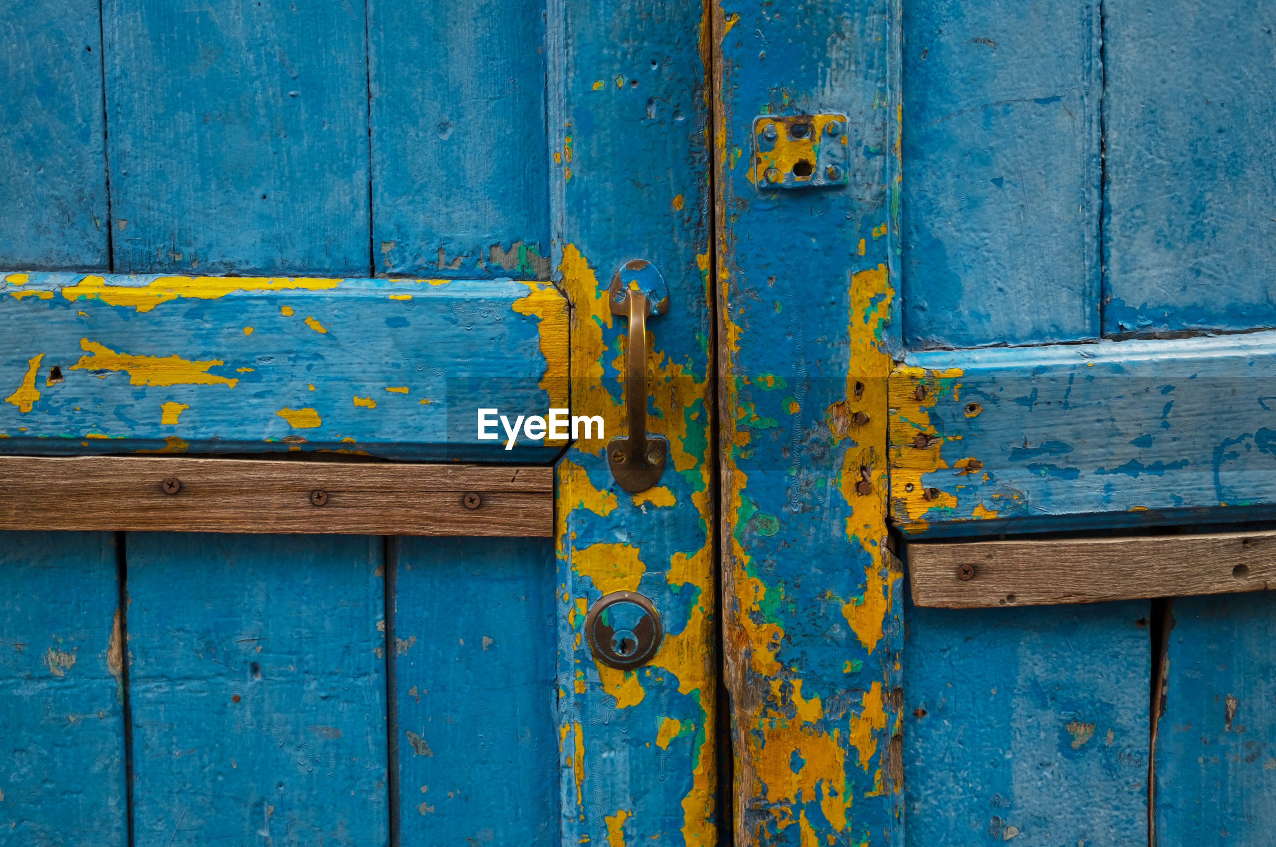 Full Frame Shot Of Old Wooden Door