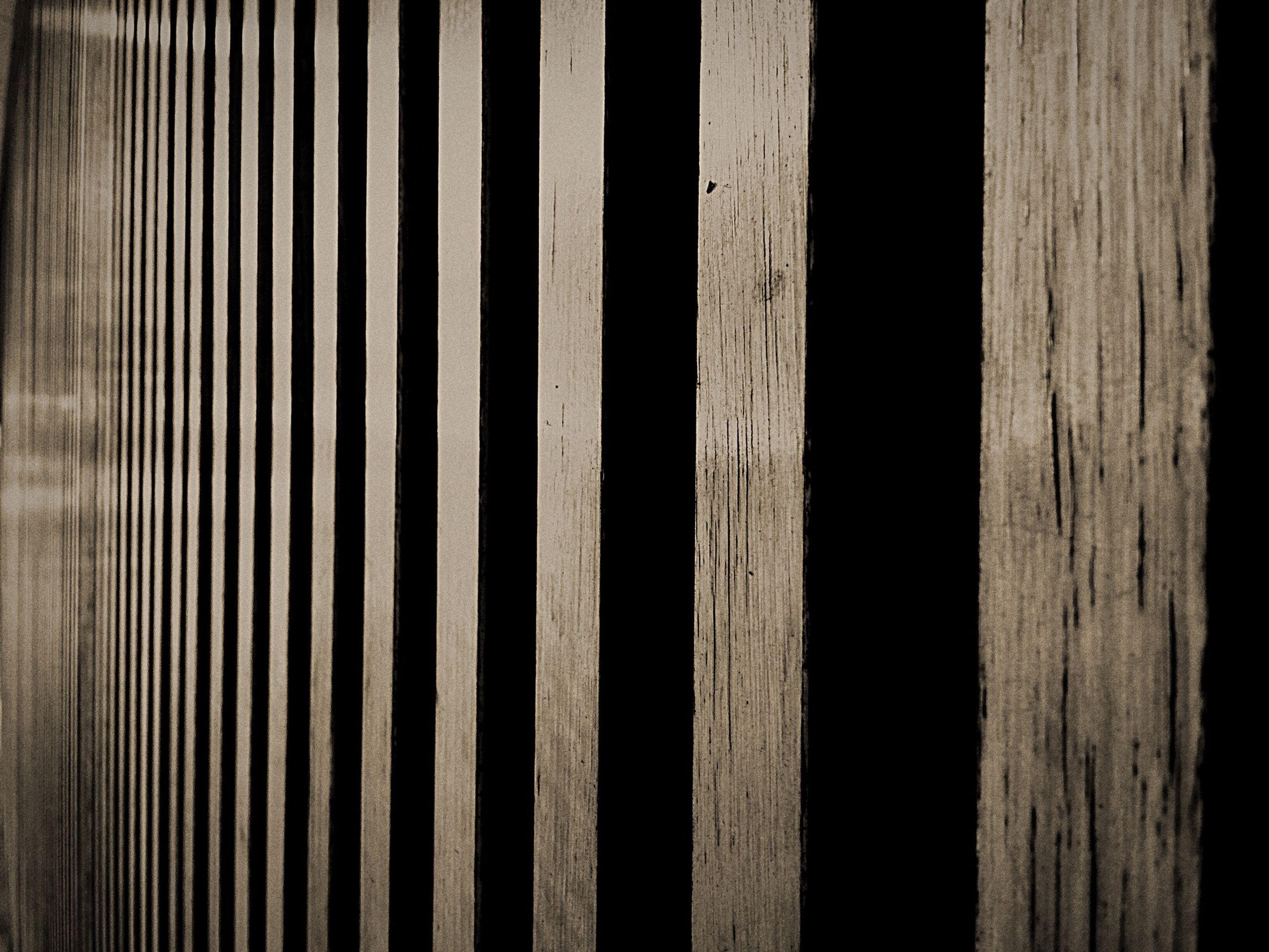 Detail shot of wooden wall
