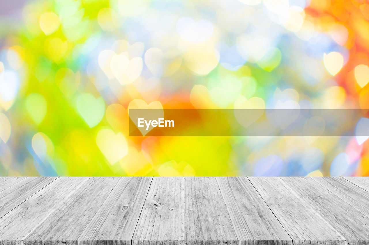 outdoors, no people, wood - material, focus on foreground, close-up, day, yellow, defocused, nature, sky