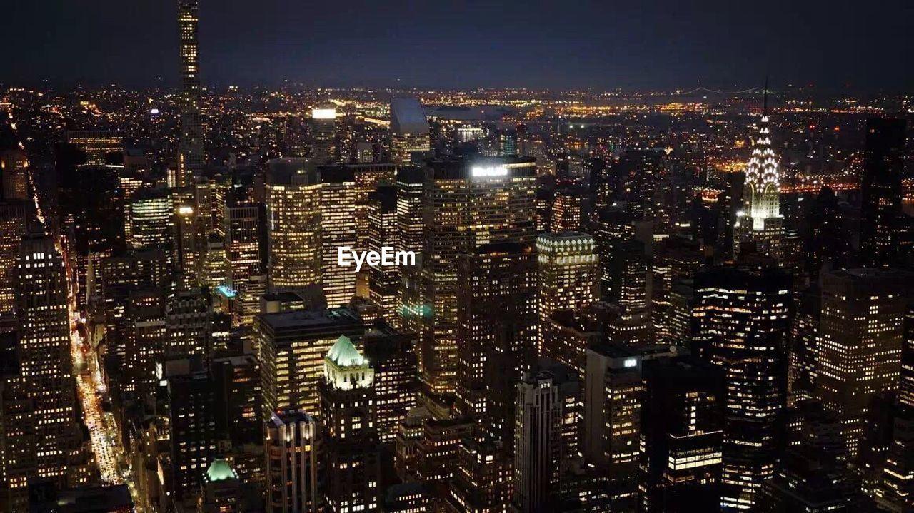 cityscape, modern, city, urban, skyscraper, night, illuminated, growth, architecture, tall, no people