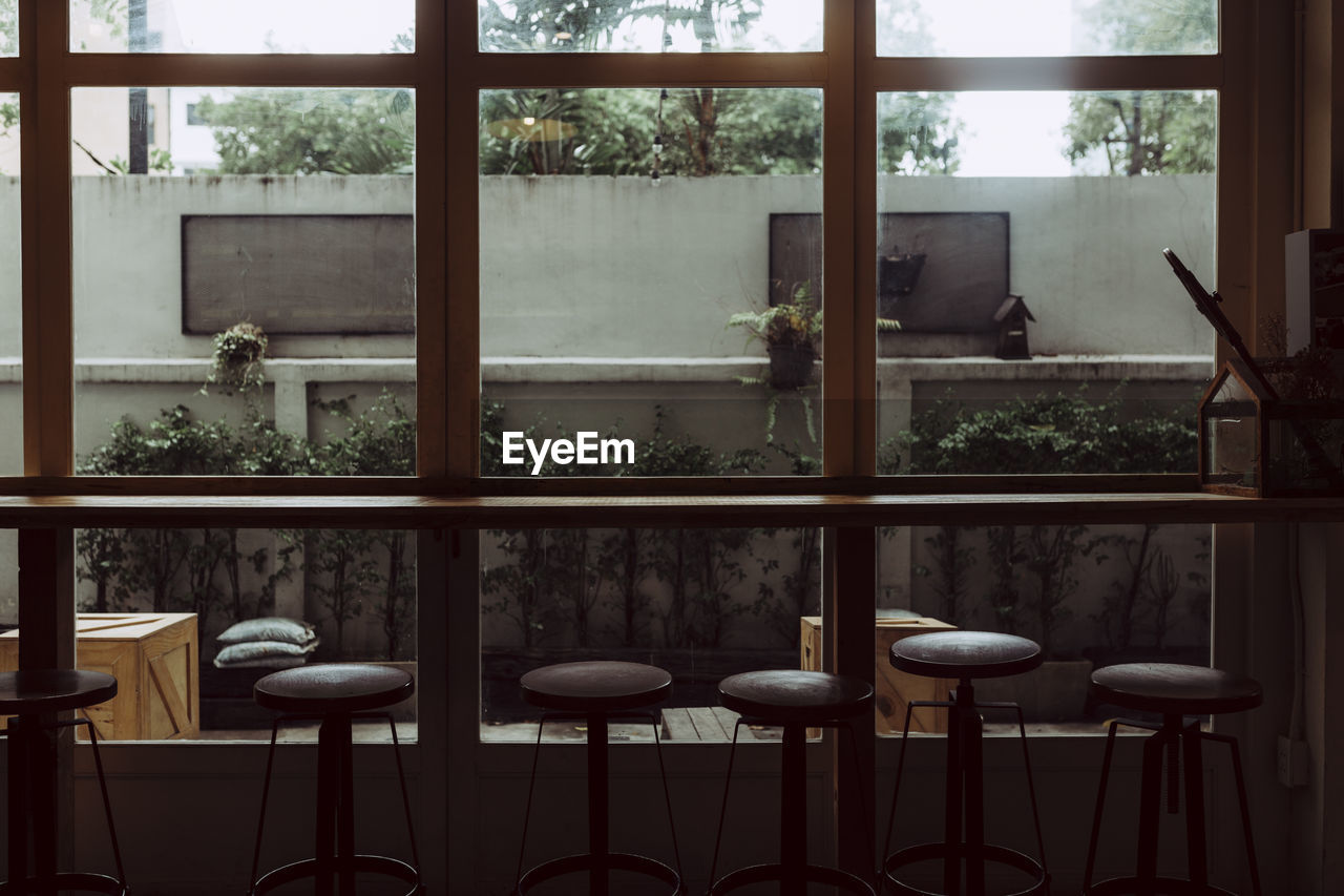 View Of Empty Cafe