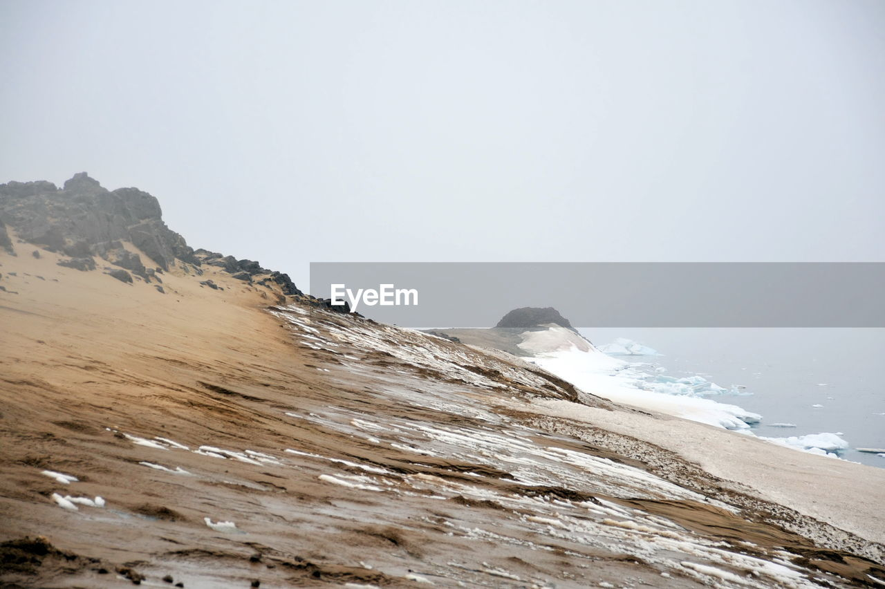 nature, clear sky, sea, beauty in nature, water, no people, outdoors, beach, day, sky, mountain, wave