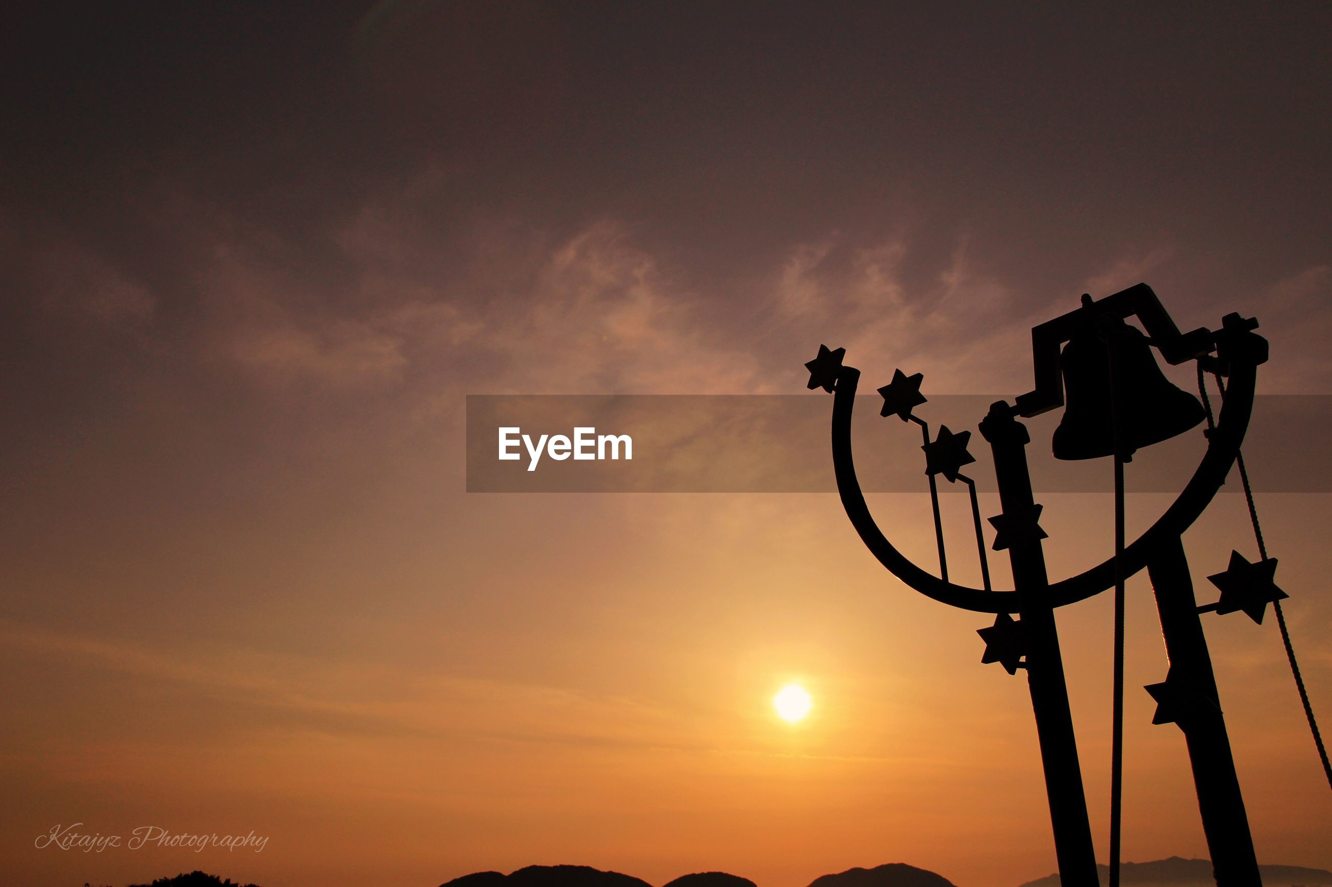 sunset, silhouette, low angle view, sky, no people, street light, outdoors, cloud - sky, technology, nature, beauty in nature, day