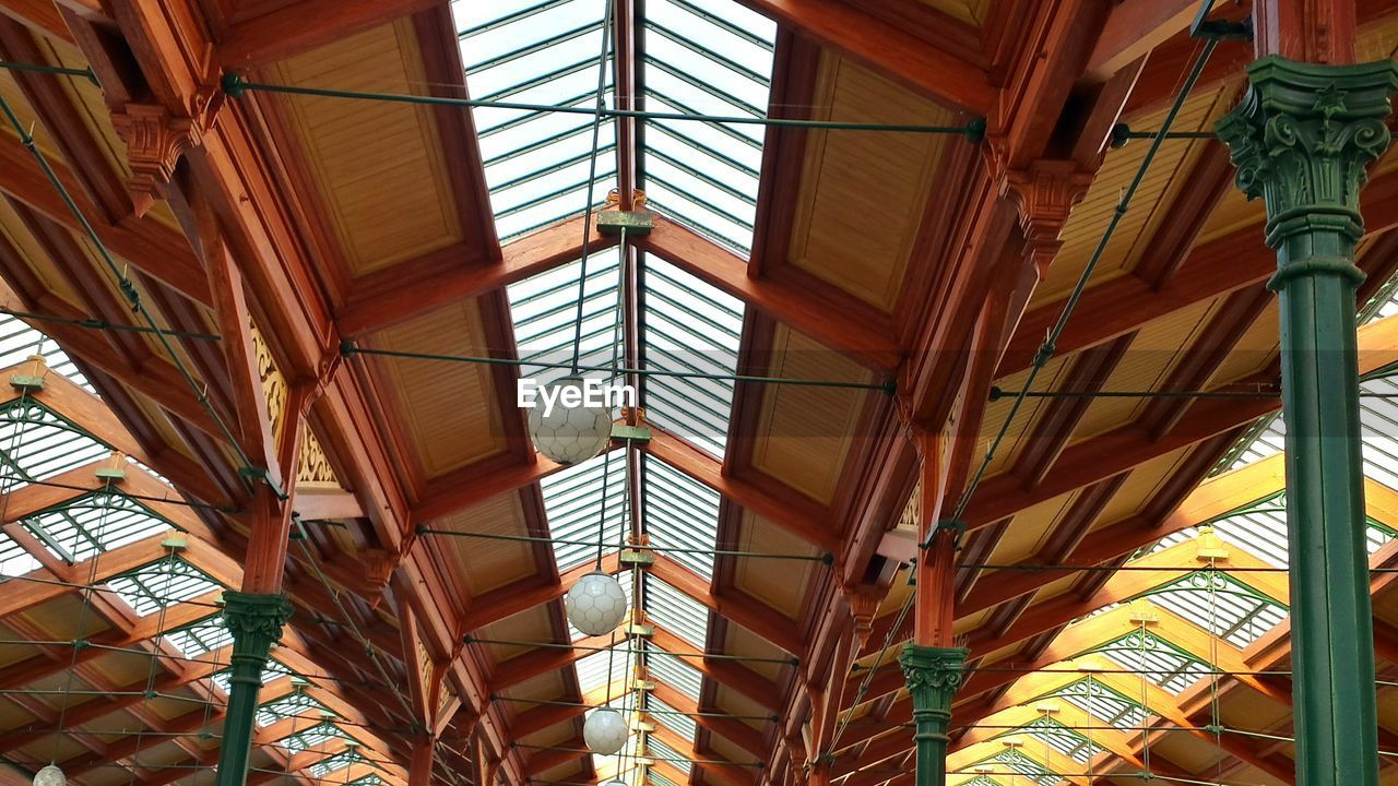 Ceiling Of Train Station