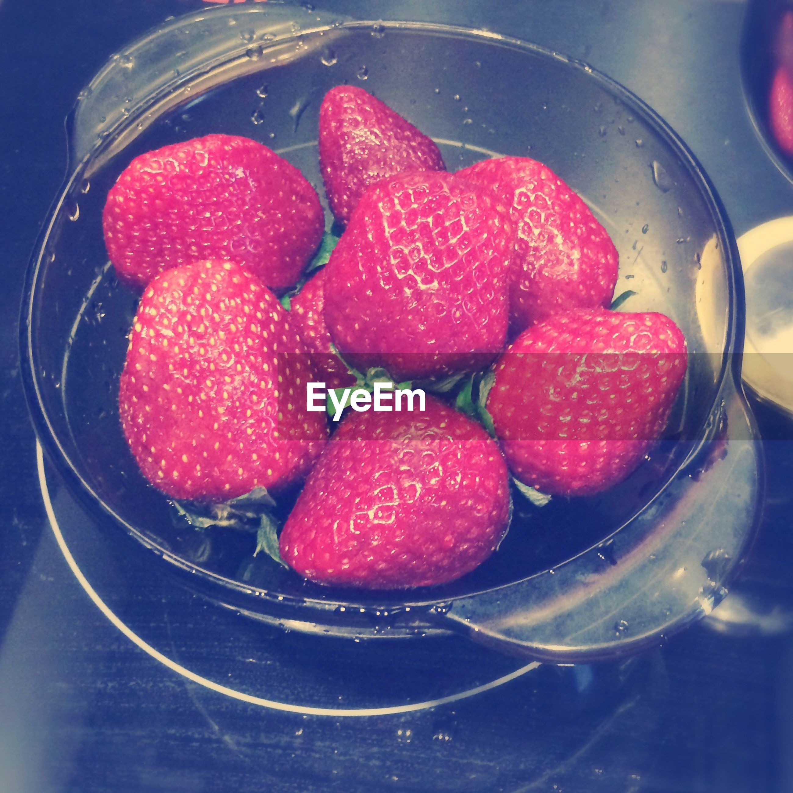 food and drink, food, red, fruit, strawberry, freshness, indoors, healthy eating, sweet food, close-up, berry fruit, raspberry, still life, indulgence, ready-to-eat, high angle view, berry, juicy, no people, dessert