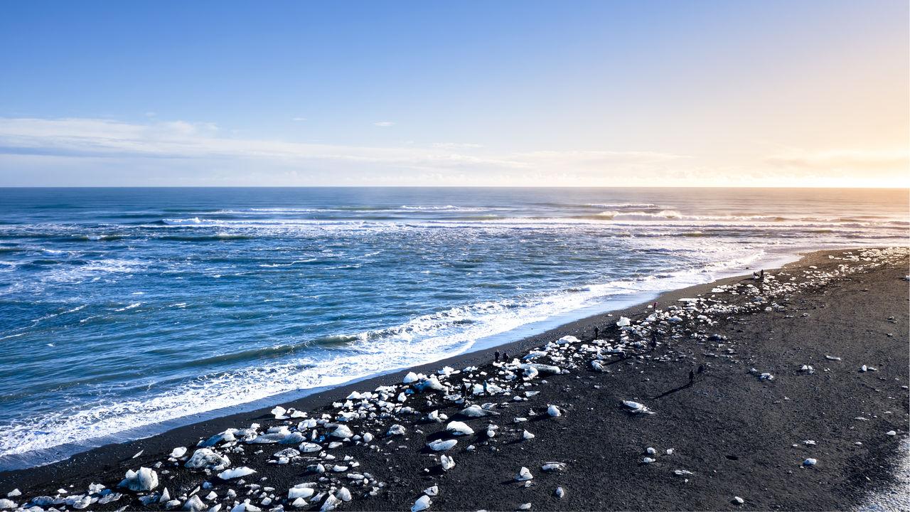 water, sea, sky, beach, beauty in nature, scenics - nature, land, horizon over water, horizon, tranquility, tranquil scene, wave, idyllic, nature, motion, cloud - sky, no people, aquatic sport, non-urban scene, outdoors