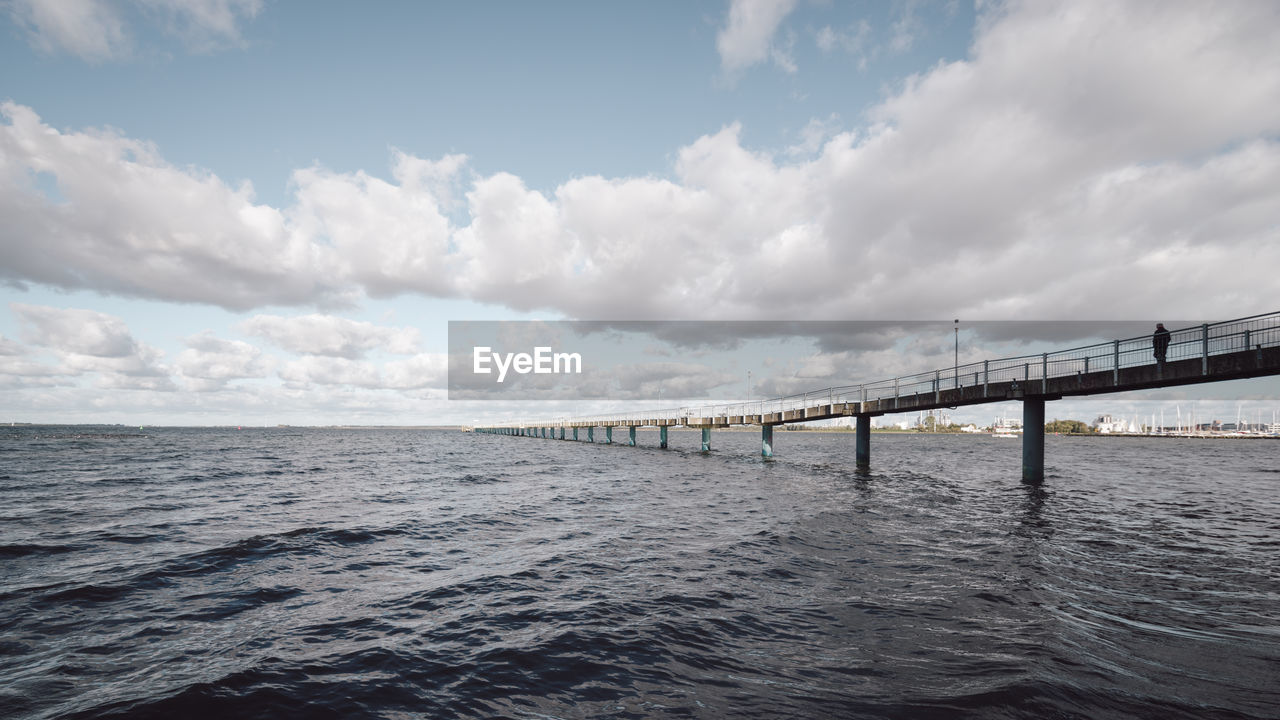 bridge - man made structure, cloud - sky, sky, architecture, connection, sea, no people, built structure, transportation, travel destinations, day, outdoors, waterfront, nature, water, scenics, beauty in nature