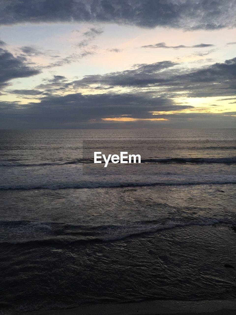 sky, water, sea, cloud - sky, sunset, scenics - nature, horizon, beauty in nature, horizon over water, tranquility, tranquil scene, nature, idyllic, no people, waterfront, non-urban scene, outdoors, beach, land