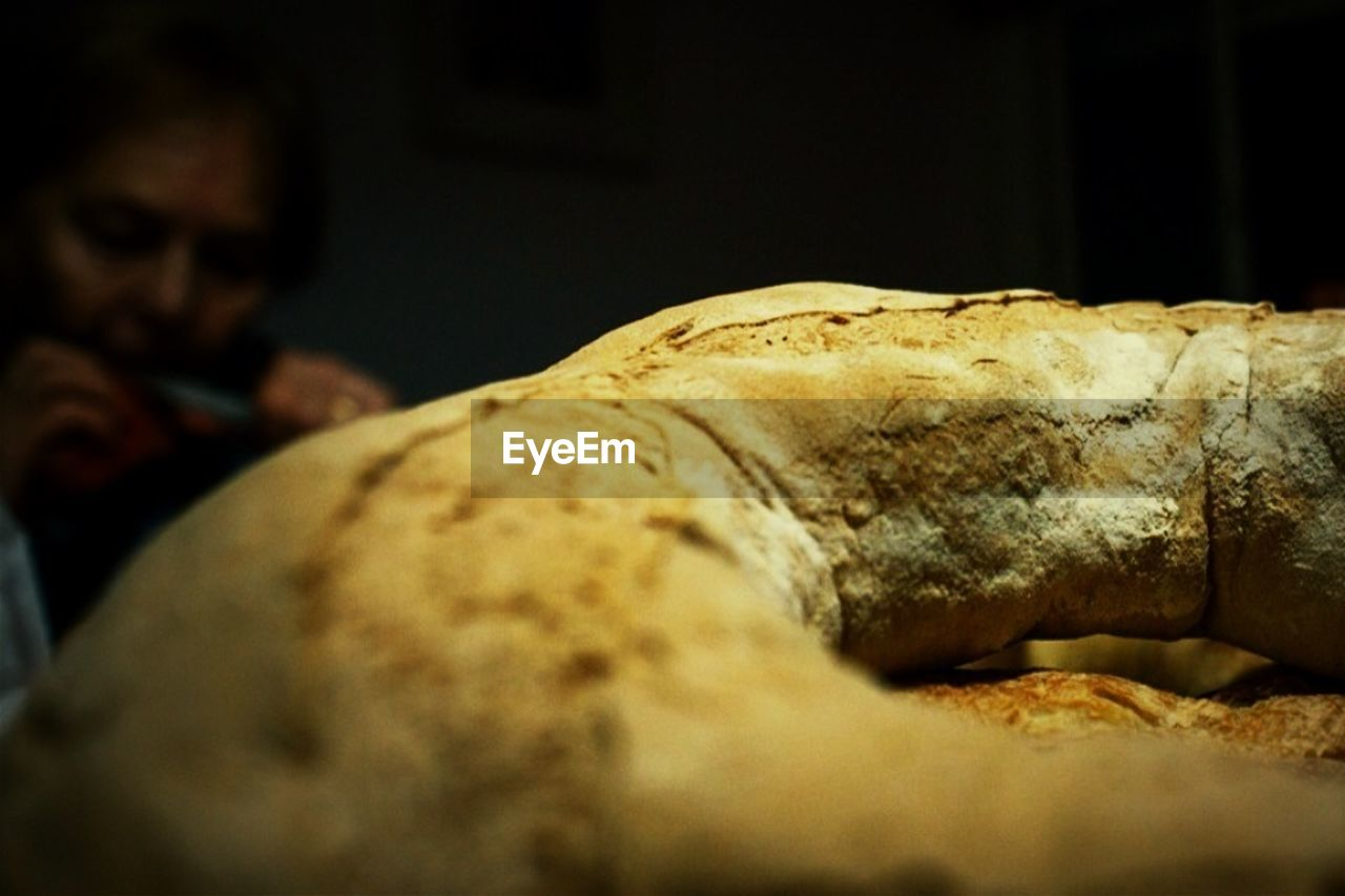 indoors, close-up, bread, no people, day