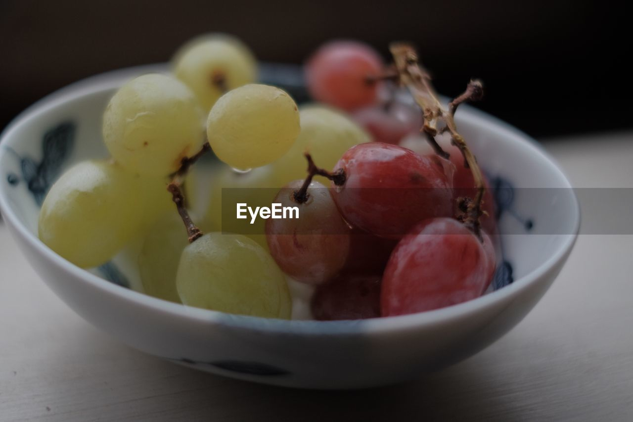 food and drink, fruit, bowl, food, healthy eating, freshness, close-up, no people, focus on foreground, table, indoors, day