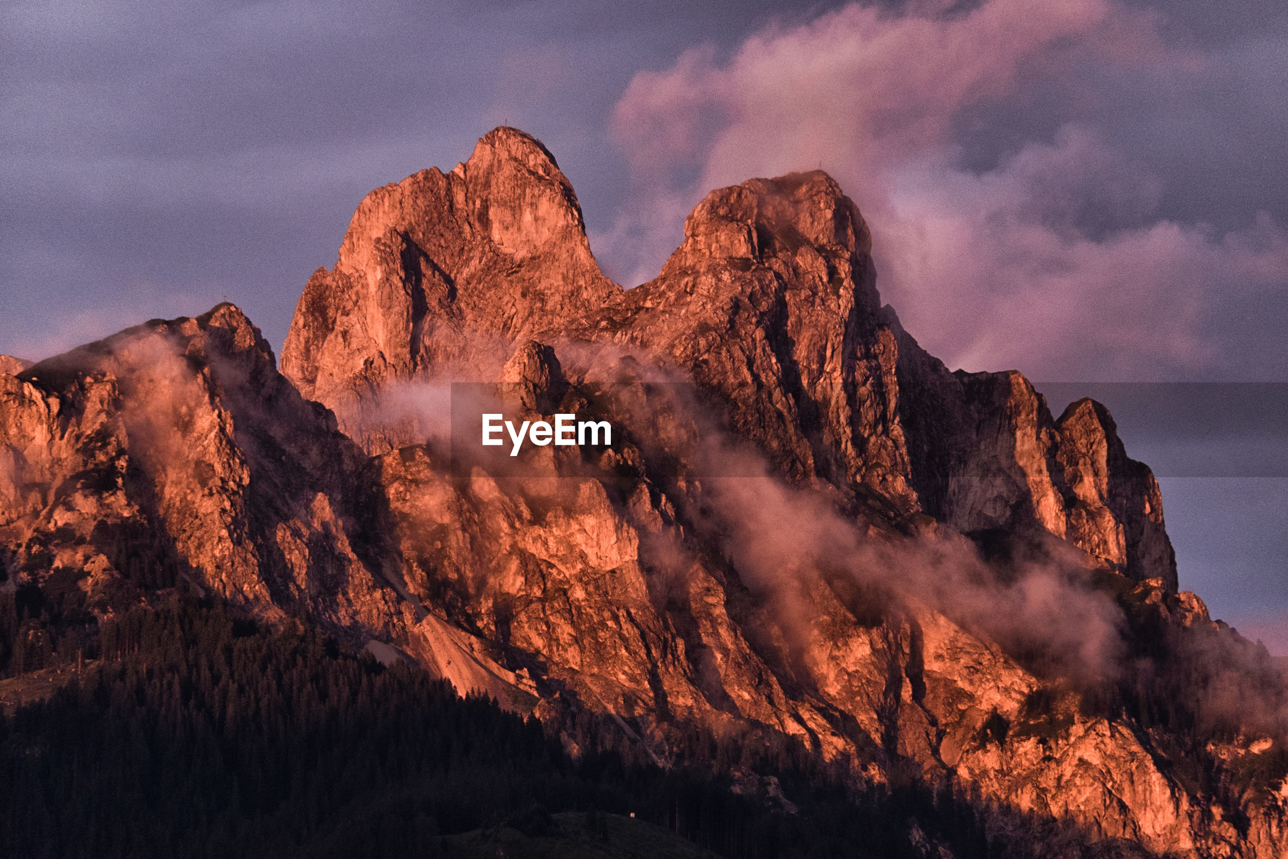 LOW ANGLE VIEW OF MOUNTAINS