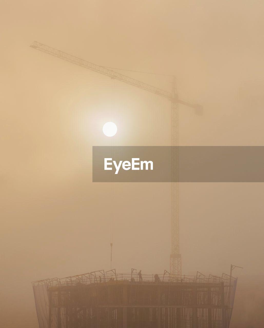 working Smoke Fog Lumix Photo Photography SPAIN Panasonic  Astronomy Fog Moon Smoke Stack Science Smog Chimney Metal Industry