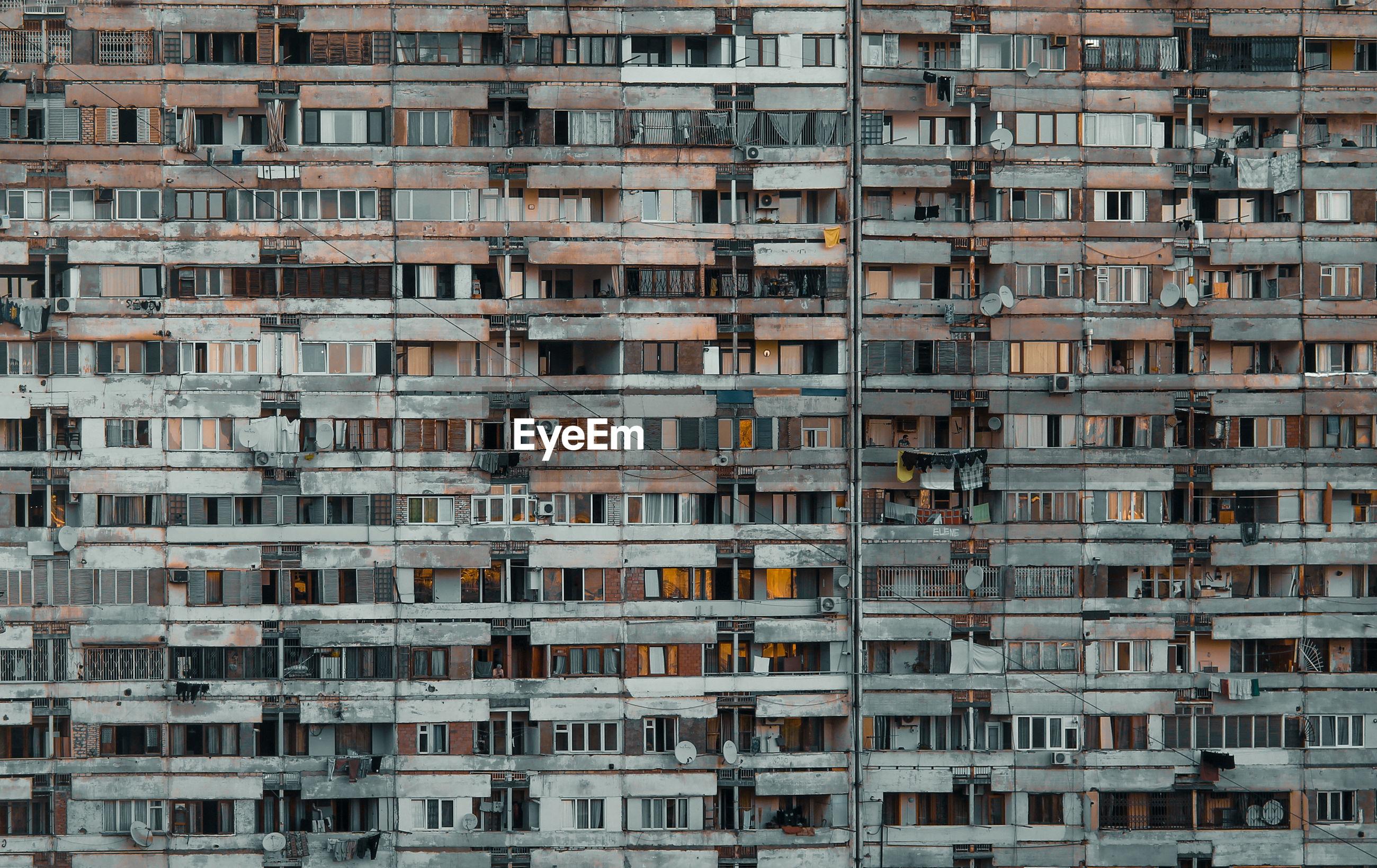 Brutalist architecture in tbilisi