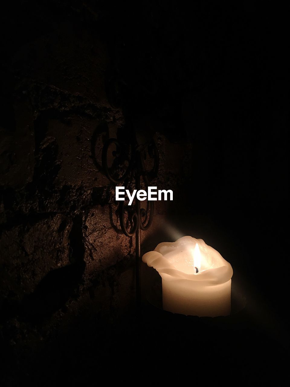 candle, flame, lighting equipment, illuminated, no people, burning, heat - temperature, indoors, close-up, night