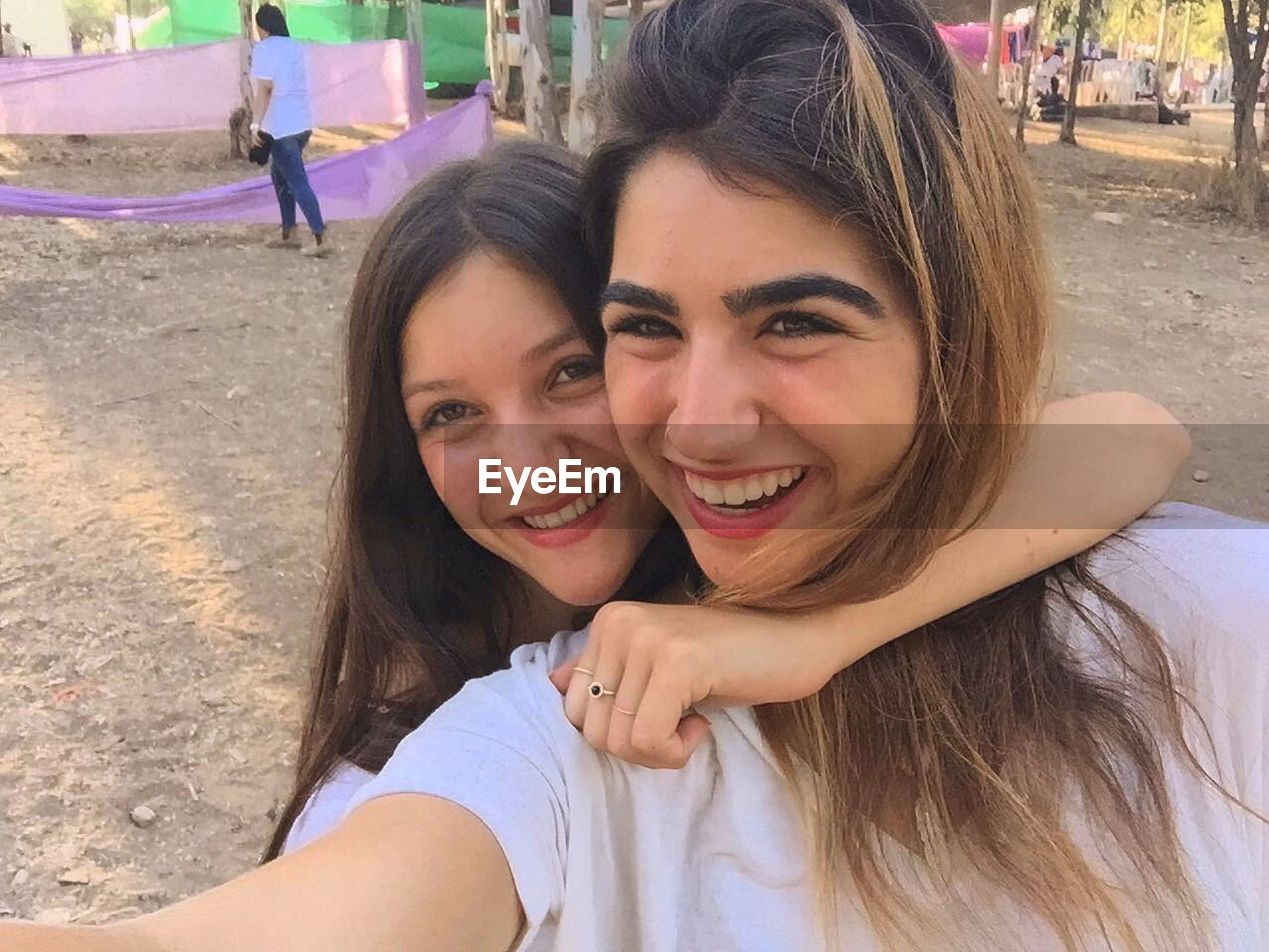 lifestyles, person, leisure activity, portrait, happiness, smiling, front view, casual clothing, toothy smile, enjoyment, long hair, outdoors, day, fun, cute, headshot