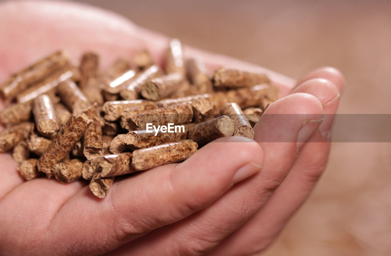 human hand, hand, one person, human body part, close-up, sweet food, food, holding, food and drink, real people, chocolate, indoors, unrecognizable person, body part, focus on foreground, finger, human finger, lifestyles, baked, temptation, snack