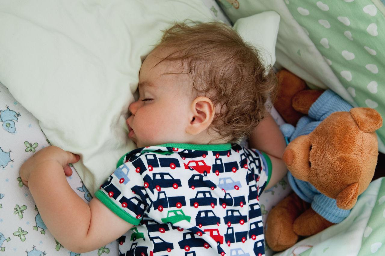 Sleeping lttle baby.
